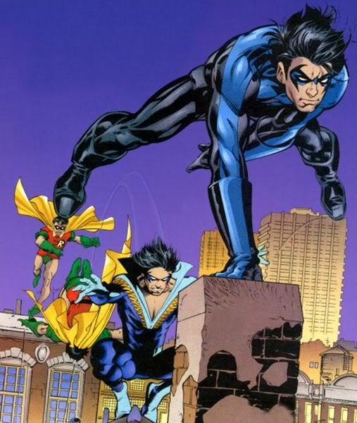 Dick Grayson Cartoon Character